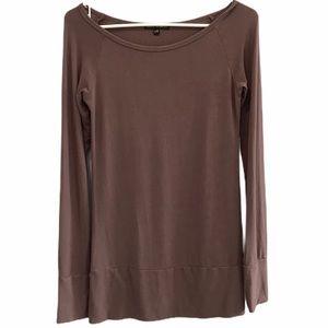 Brown Urban Behavior long sleeve shirt size large